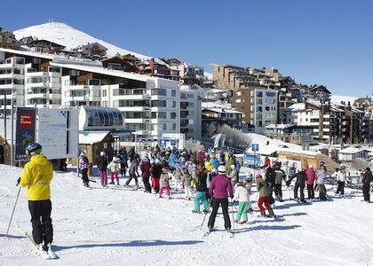 Centros de ski esperan aumentar las visitas este 2018