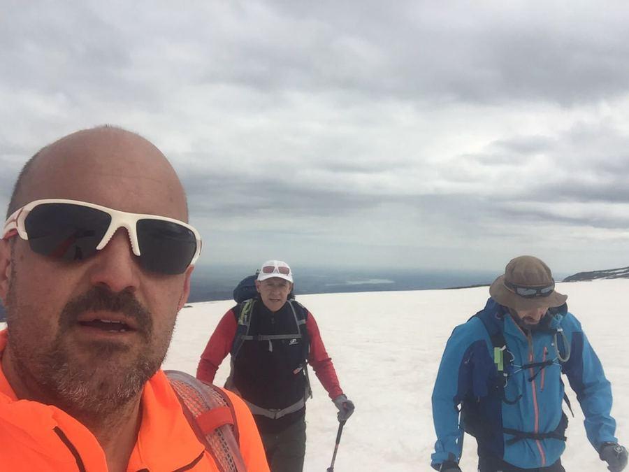 Travesía con tres amigos por la Sierra del Candelario