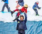 Arapahoe Basin reabre su temporada de esquí y se desata la locura