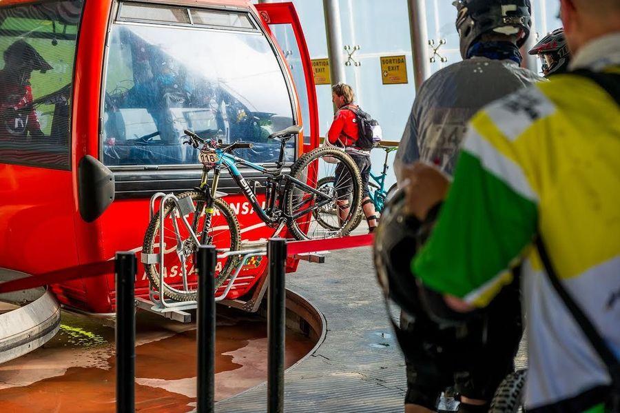 bicicletas telecabina vallnord