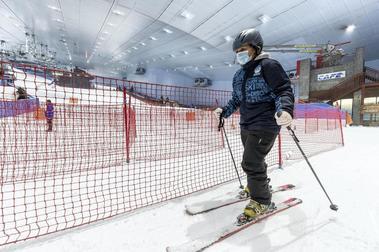 Dubai vuelve a abrir su estación de esquí aunque con ciertas limitaciones