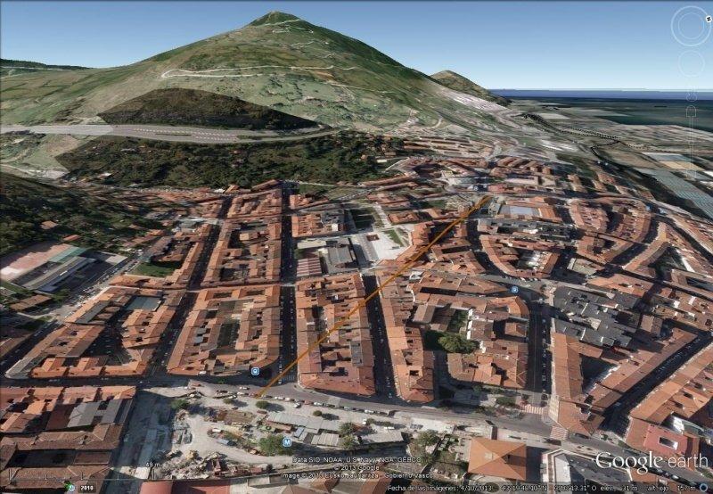 Vista Google Earth Funicular de Mamariga