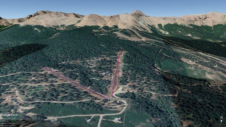 Vista Google Earth Las Pendientes 2019