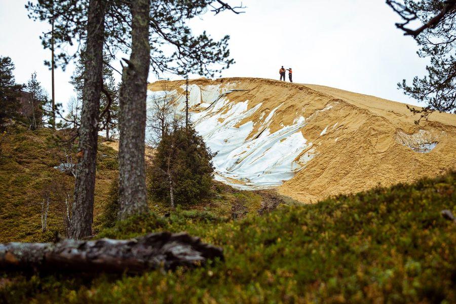 Ruka snow farming