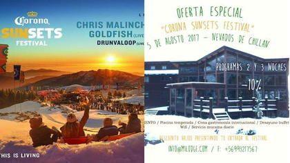 Oferta M.I. Lodge para el Festival Corona Sunsets