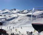 Wine Sunset en Valle Nevado