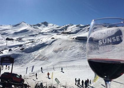 Wine Sunset en Valle Nevado