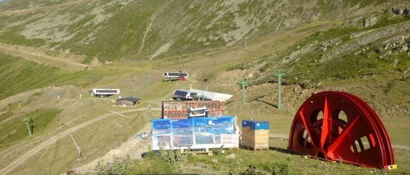 Avanza a buen ritmo el nuevo telesilla en la estación de esquí de Valdezcaray