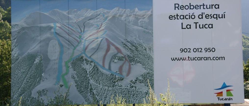 Retiran más restos de la extinta estación de esquí de La Tuca