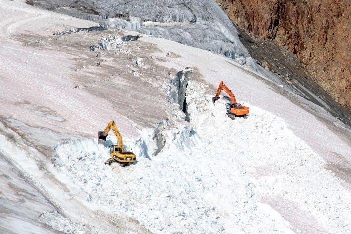 glaciar pitztal