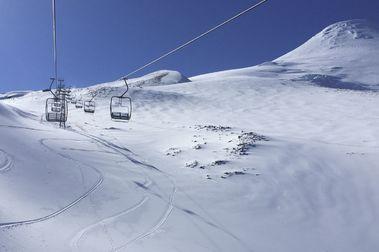 Continúa la temporada de nieve en Volcán Osorno