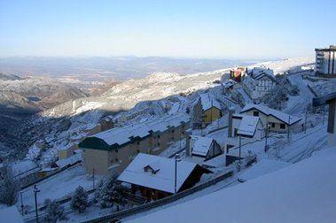Arranca la producción de nieve