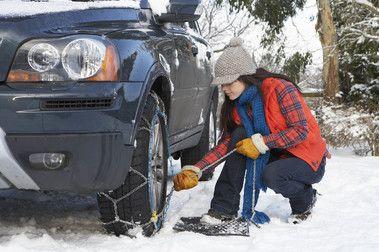 Andorra sanciona a los vehículos que no llevan cadenas