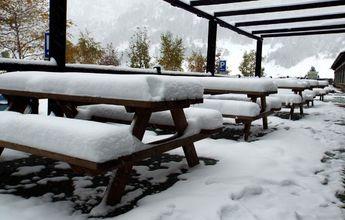 Las estaciones de esquí nórdico de Aragón reciben sus primeras nevadas