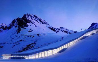 Tignes quiere construir una pista de esquí cubierta