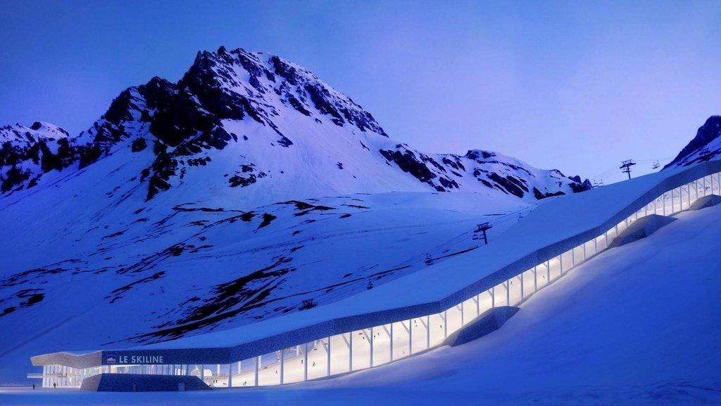 Ski Line Tignes