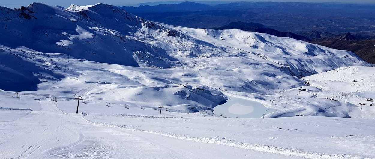 Sierra Nevada hace historia abriendo ya el sector de la Laguna de las Yeguas