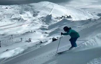Sierra Nevada alcanza los 40 km y abre su primera negra para esquiar