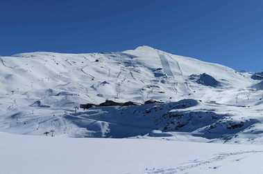 Sierra Nevada 28 Noviembre: explosión de nieve