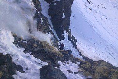Escalada en Hielo en Sierra Nevada