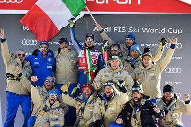 Dominik Paris devuelve la alegría a los tifosi italianos