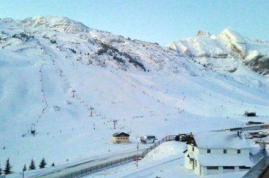 Astún y Candanchú durante y después de la nevada
