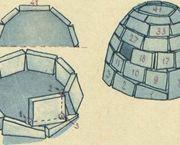 Como hacer un iglú
