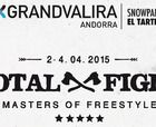 Cartel de lujo en el Total Fight Masters of Freestyle