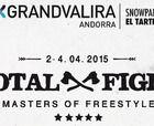 Cartel de lujo en el Total Fight Masters of Freestyle