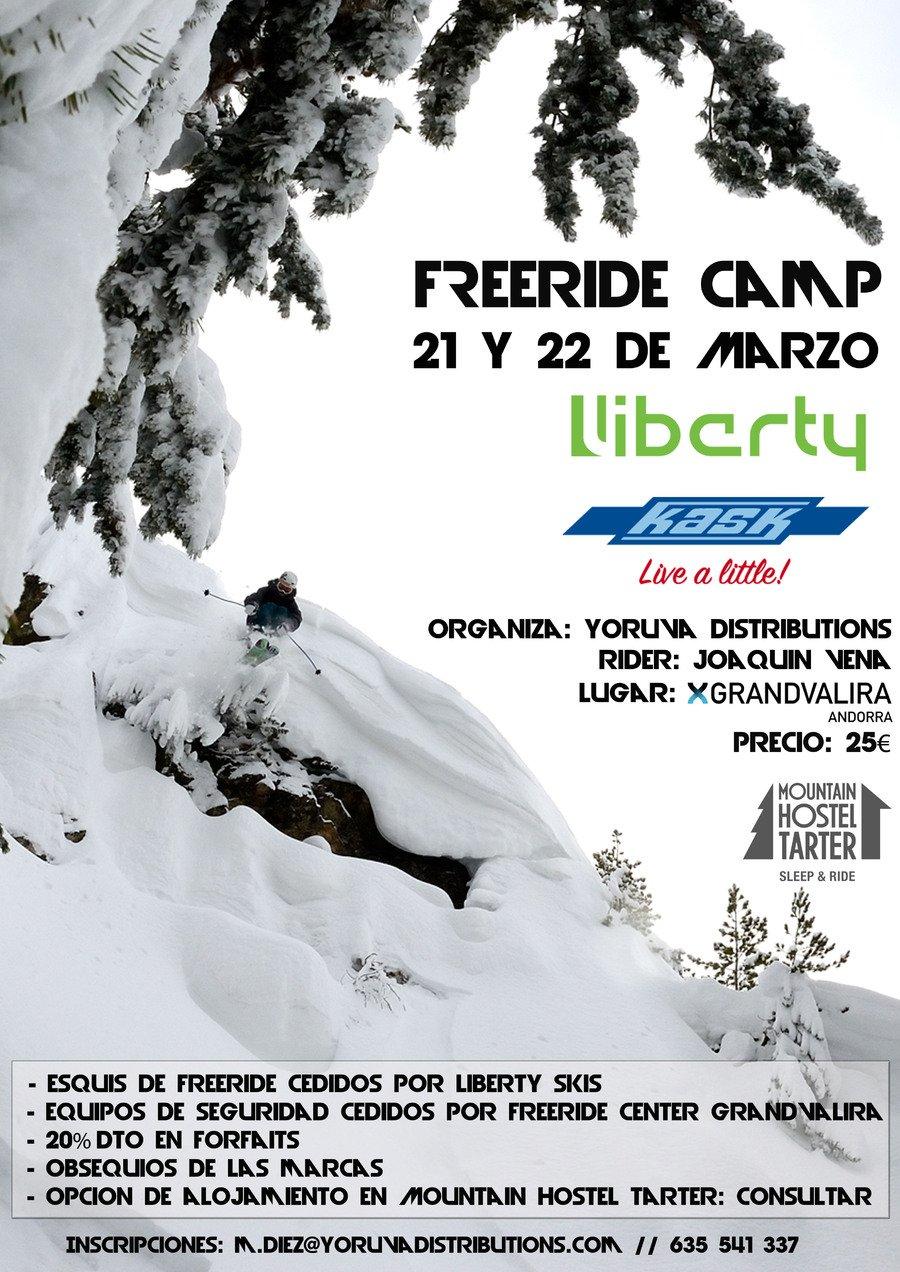 Camp de freeride, con Joaquin Vena