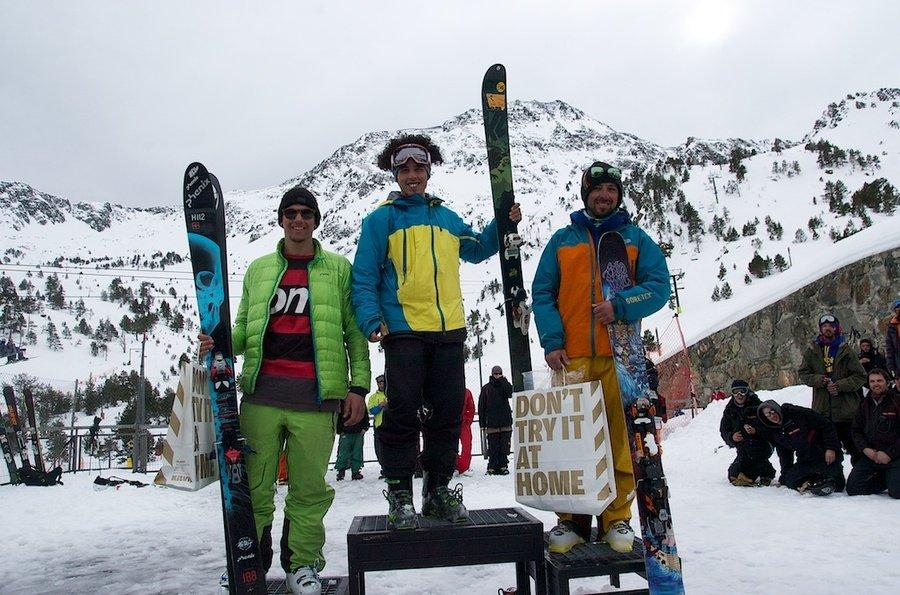 Podio esquí