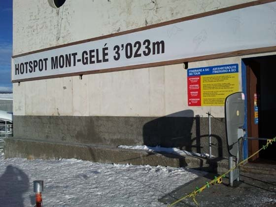 PRIMER GRAN DIA DE COMPETICION EN LA FREERIDE WEEK DE VERBIER, SWITZERLAND.