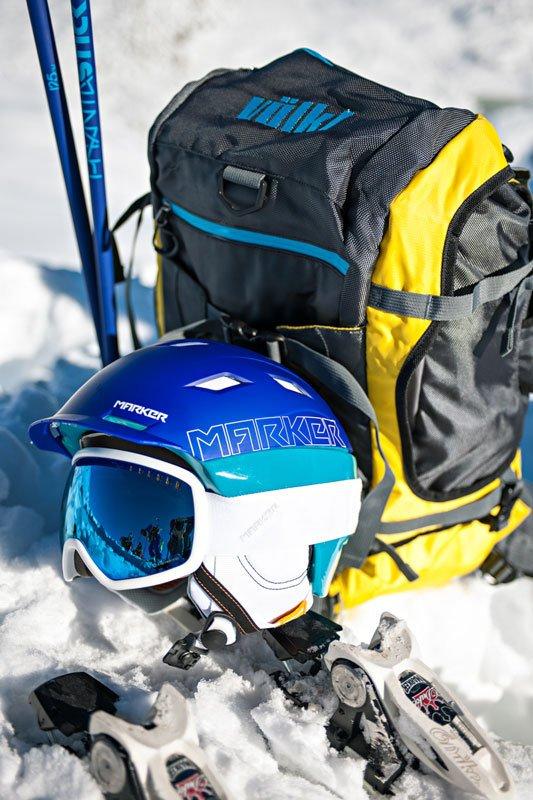 MARKER lanza un nueva colección de cascos y gafas: Protective SnowEquipment