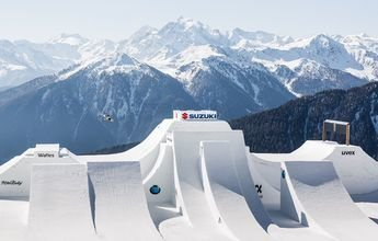 Andri Rafetti realiza el primer Quad Cork 1800 completo en esquís
