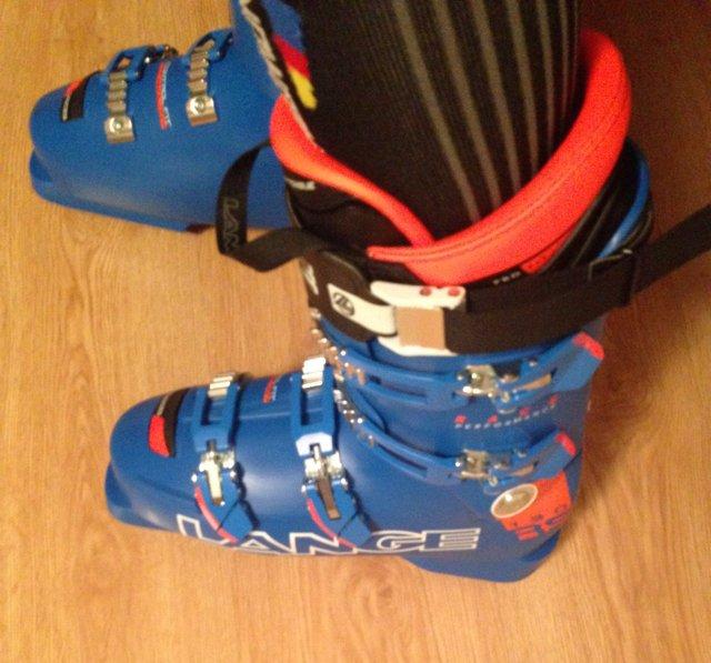 e91c1747de Antes de estrenarlas en la nieve me las puse varias veces en casa. Por un  lado tenía muchas ganas de estrenarlas