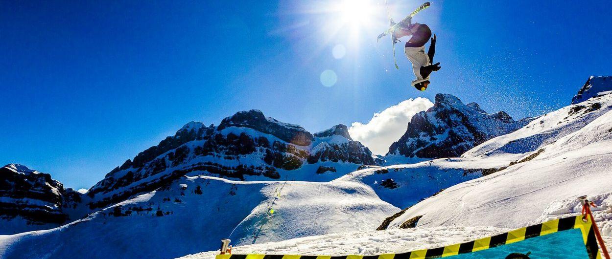 Candanchú instala un Snowpark este fin de semana