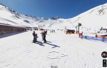 Ya se puede esquiar en San Isidro desde el sofá de casa