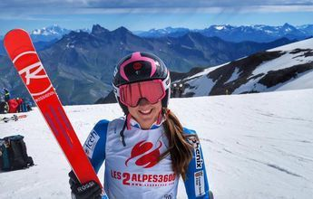 """Anna Esteve: """"Vivir del esquí sería todo un sueño"""""""
