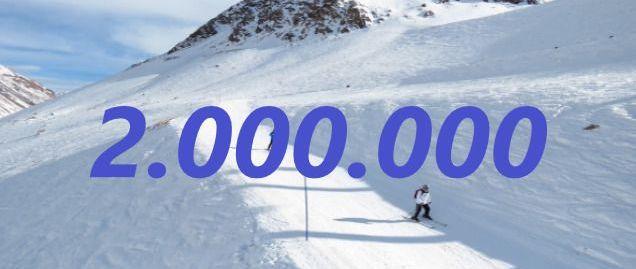 ¡Dos millones de gracias!