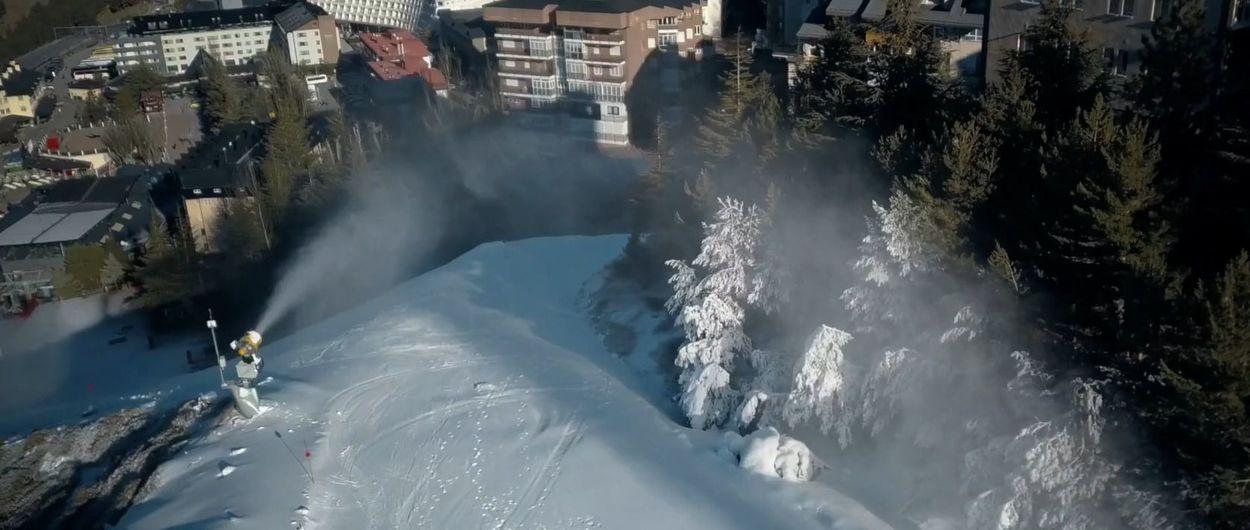 Monachil pide a la estación de esquí de Sierra Nevada usar aguas residuales para su nieve artificial