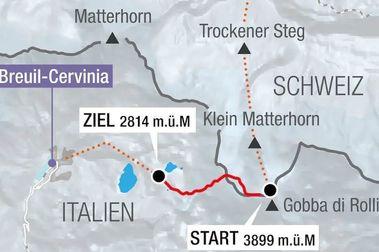 Luz verde de Italia a la pista de esquí de Descenso FIS más larga de la historia