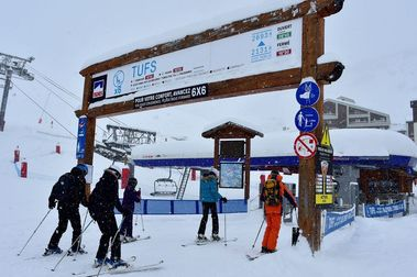 Compagnie des Alpes recibe 160 millones por no poder abrir sus estaciones de esquí