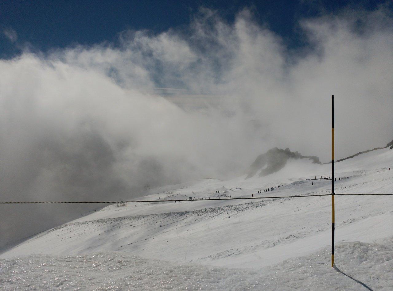 15 de Julio nieve recien caida