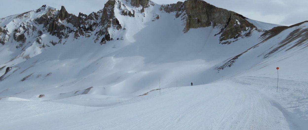 Las Leñas: Fin de semana a pleno esquí