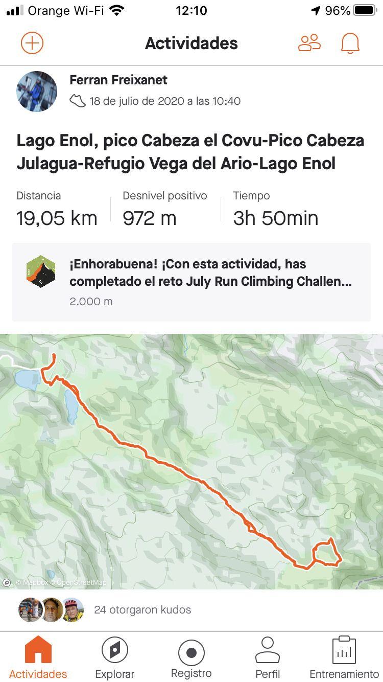 Ruta refugio Vega del Ario