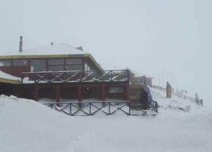 Volcán Osorno volvió a llenarse de nieve