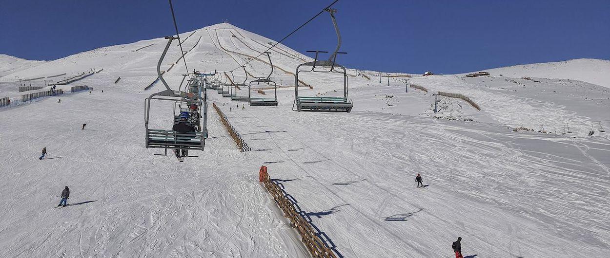 Excelente nieve en El Colorado