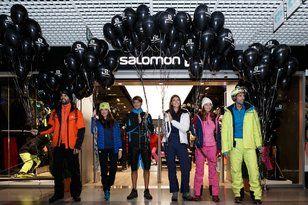 Kilian Jornet inaugura la nueva tienda Salomon en Andorra