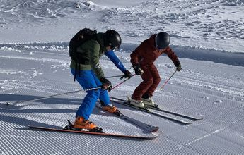 ¿Qué estaciones de esquí tienen más pistas para debutantes?