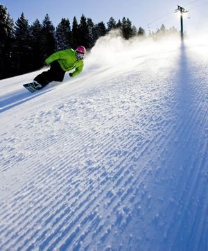 Snowboard en Pal-Arinsal
